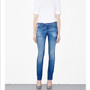 MiH Oslo slim leg jeans in sugar blue wash